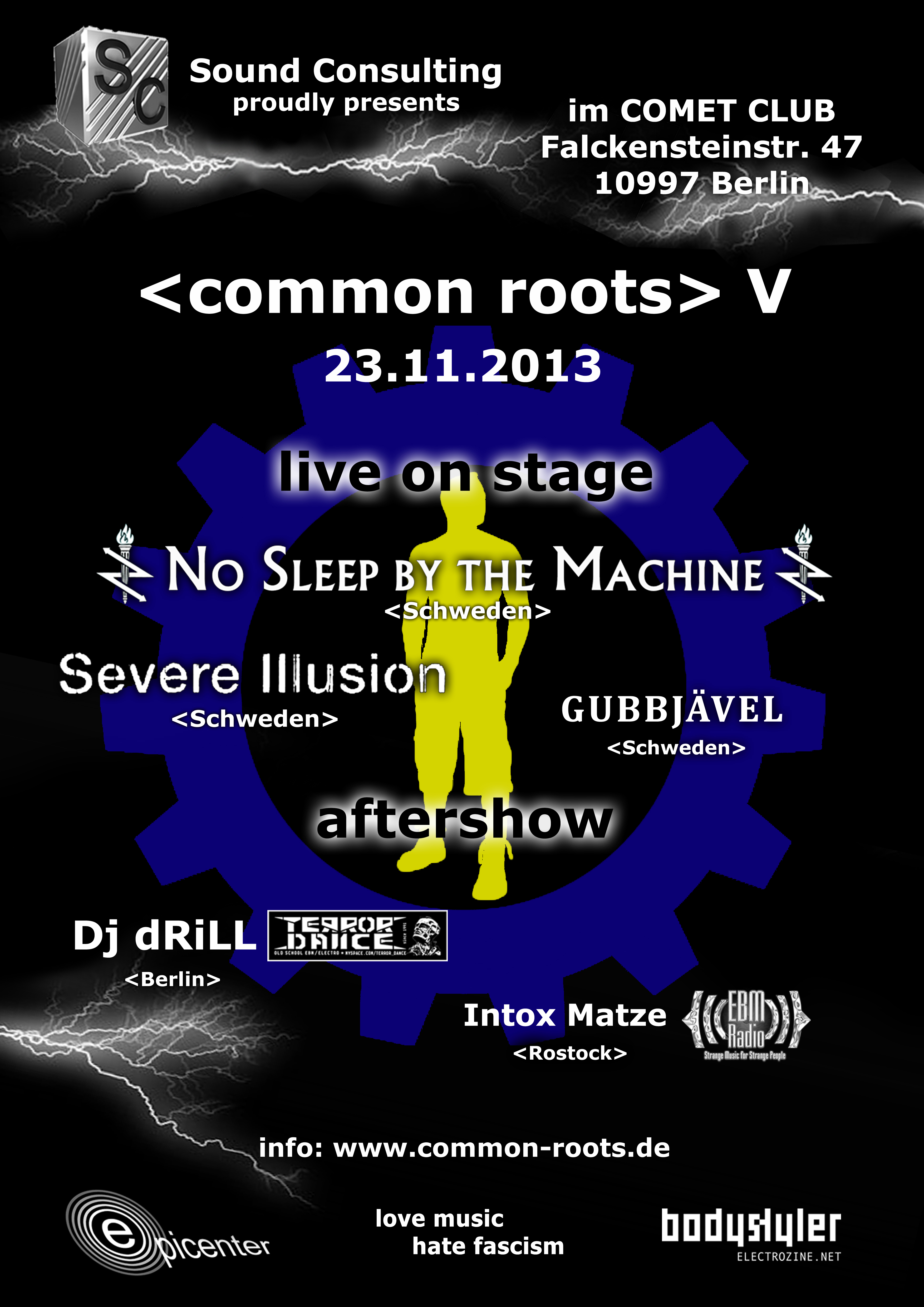 Poster common roots V