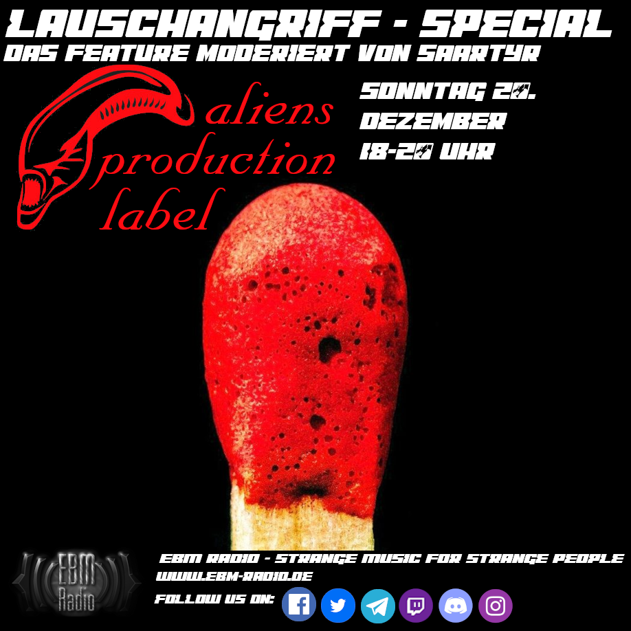 Saartyr Lauschangriff Special Aliens Label